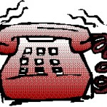 telephone interview image