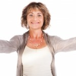 confident woman in her fifties image