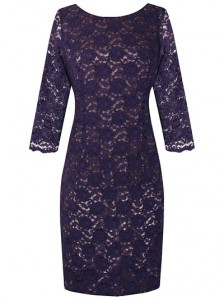 Dresses with sleeves - women over 50 can be stylish in lace