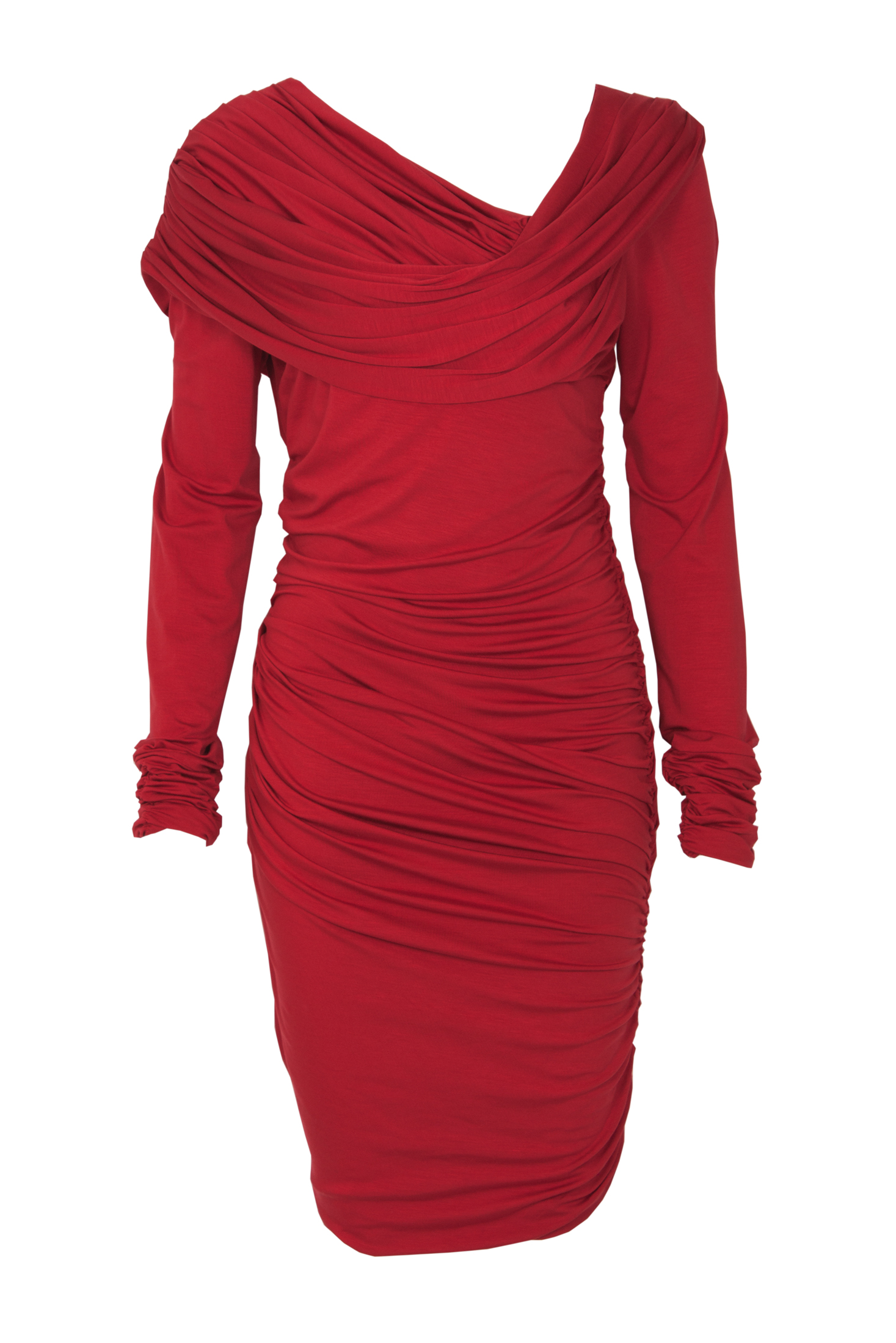Ingora classic red dress with sleeves image fab after fifty