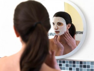 anti-ageing face mask image