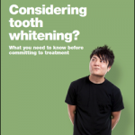 Tooth whitening booklet image