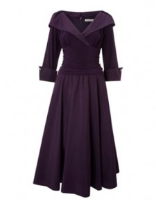 Dress with sleeves in the style of Grace Kelly image