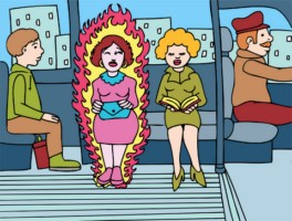 menopause cartoon image