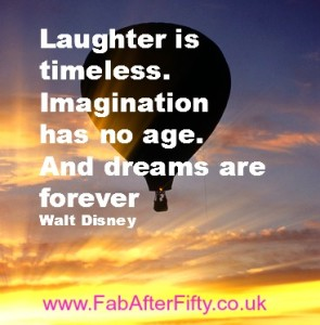 Laughter is timeless quote