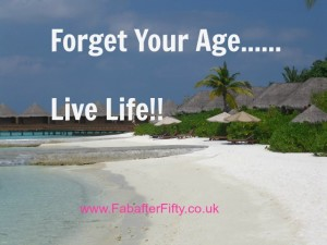 Forget your age.....
