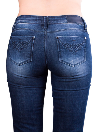 How to choose the best jeans for your bodyshape over 50 | Fab