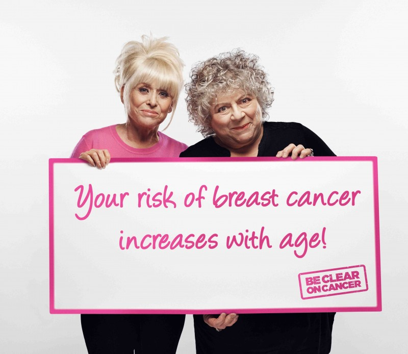 breast cancer and older women awareness campaign