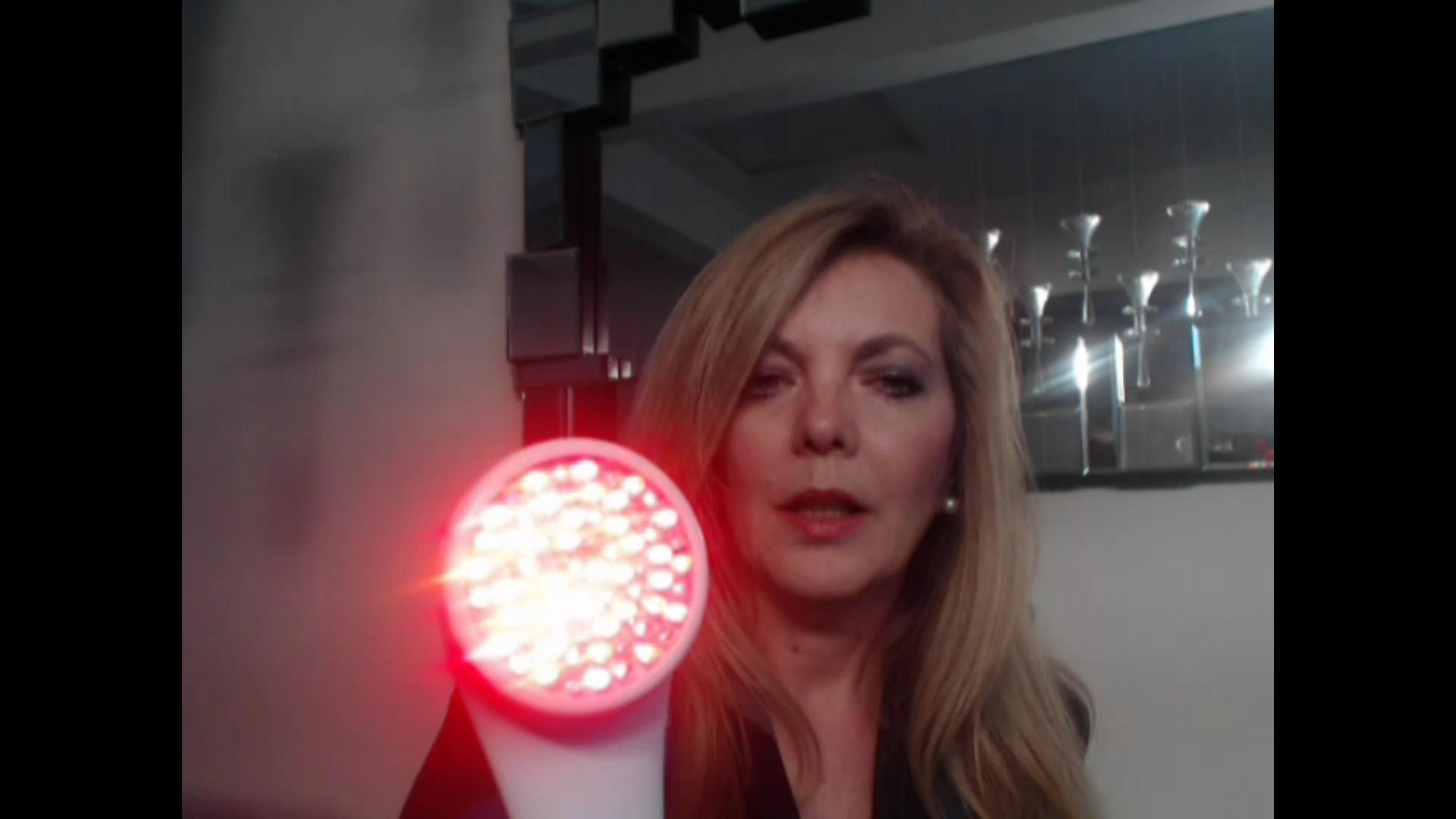 review of lightstim for wrinkles handheld led light device for the. Black Bedroom Furniture Sets. Home Design Ideas