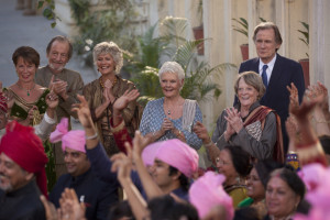 second best exotic marigold hotel dance scene image