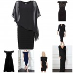 little black dress collage