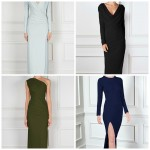evening dresses 50plus style image