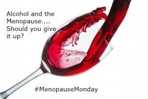 Alcohol and the menopause image