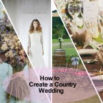 how to create a country wedding image