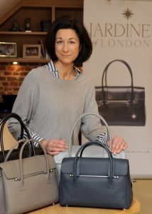 50plus entrepreneut creates handbag business image