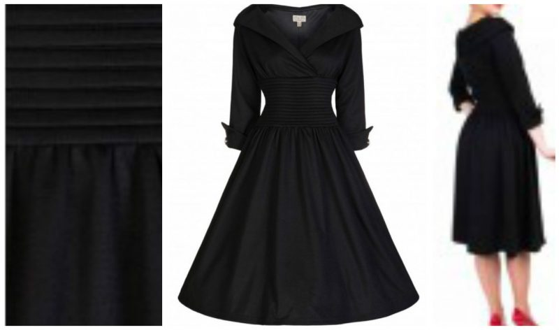 50plus style retro dress with sleeves image