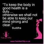 Mind strong Buddha quote