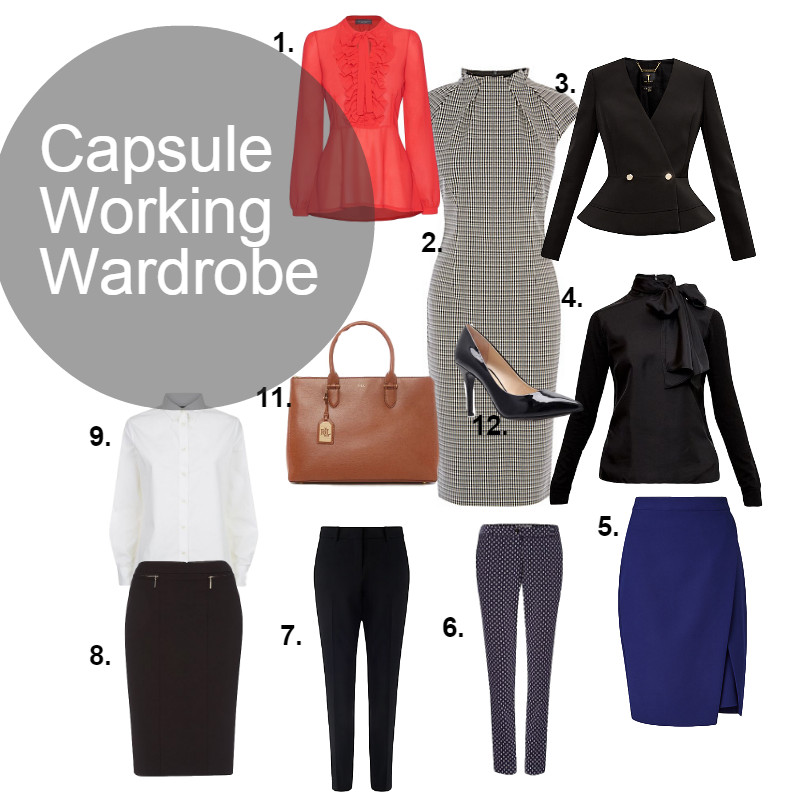 capsule working wardrobe 2