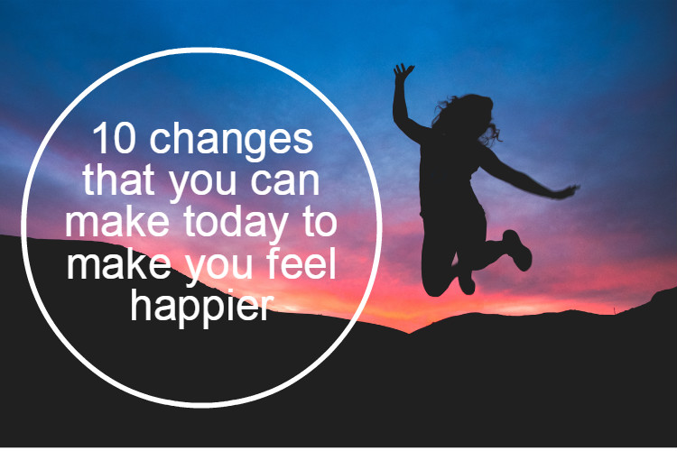 10 changes to make you feel happier image