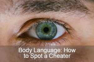 how to spot a cheater