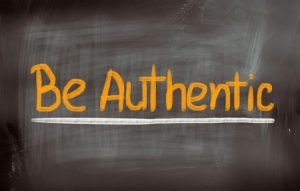 31414794 - be authentic concept