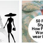 50 plus style french scarves image