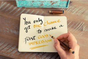 how to make a winning first impression image