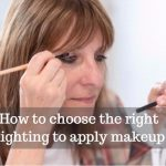 chosing the tight lighting to apply makeup image