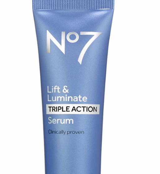 review No 7 lift and luminate triple serum image