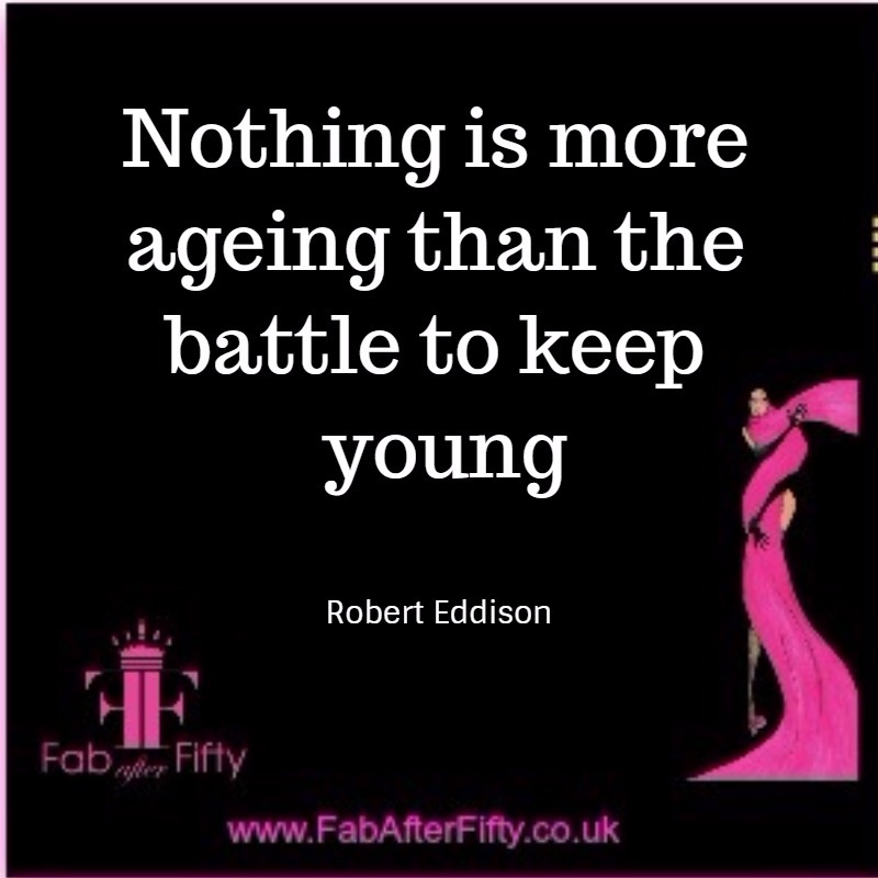 Battle to keep ageing quote image