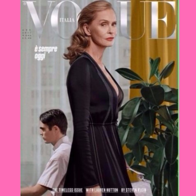 laurn hutton vogue cover at 73 image
