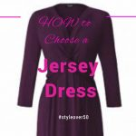 how to choose a jersey dress style over 50 image