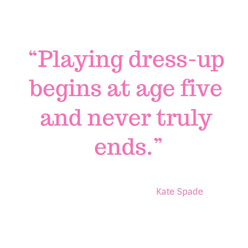 kate spade style quote image