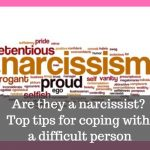 how to deal with a narcissist image