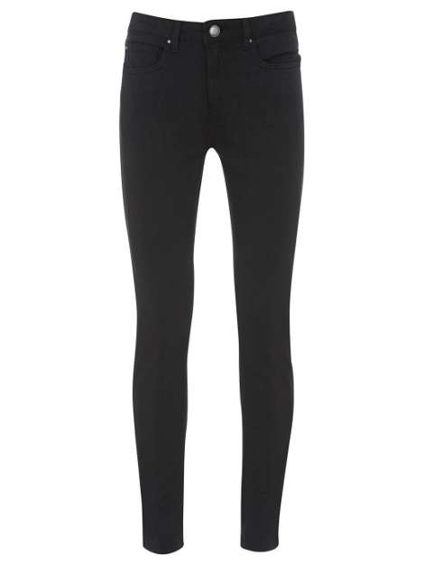 style over 50 black skinny jeans image