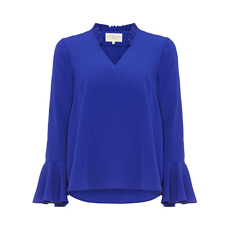 what to wear on a date over 50 cobalt top image