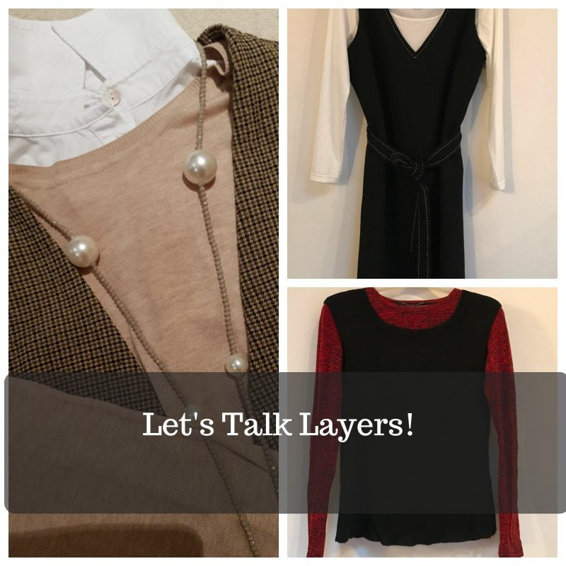 how to wear layers over 50 image