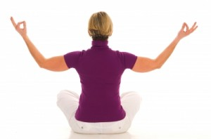 chair yoga and self massage  simple relaxation