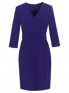 stylish over 50 in jaeger shift dress image