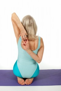 yoga exercise to strengthen shoulders image