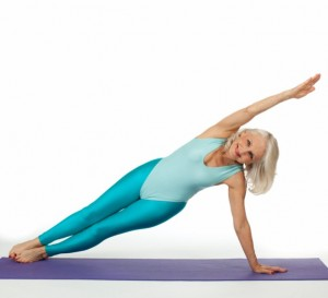 arm toning yoga exercise image