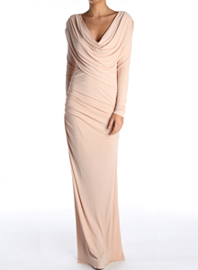 gorgeous couture long  dress image