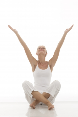 yoga exercises to destress image
