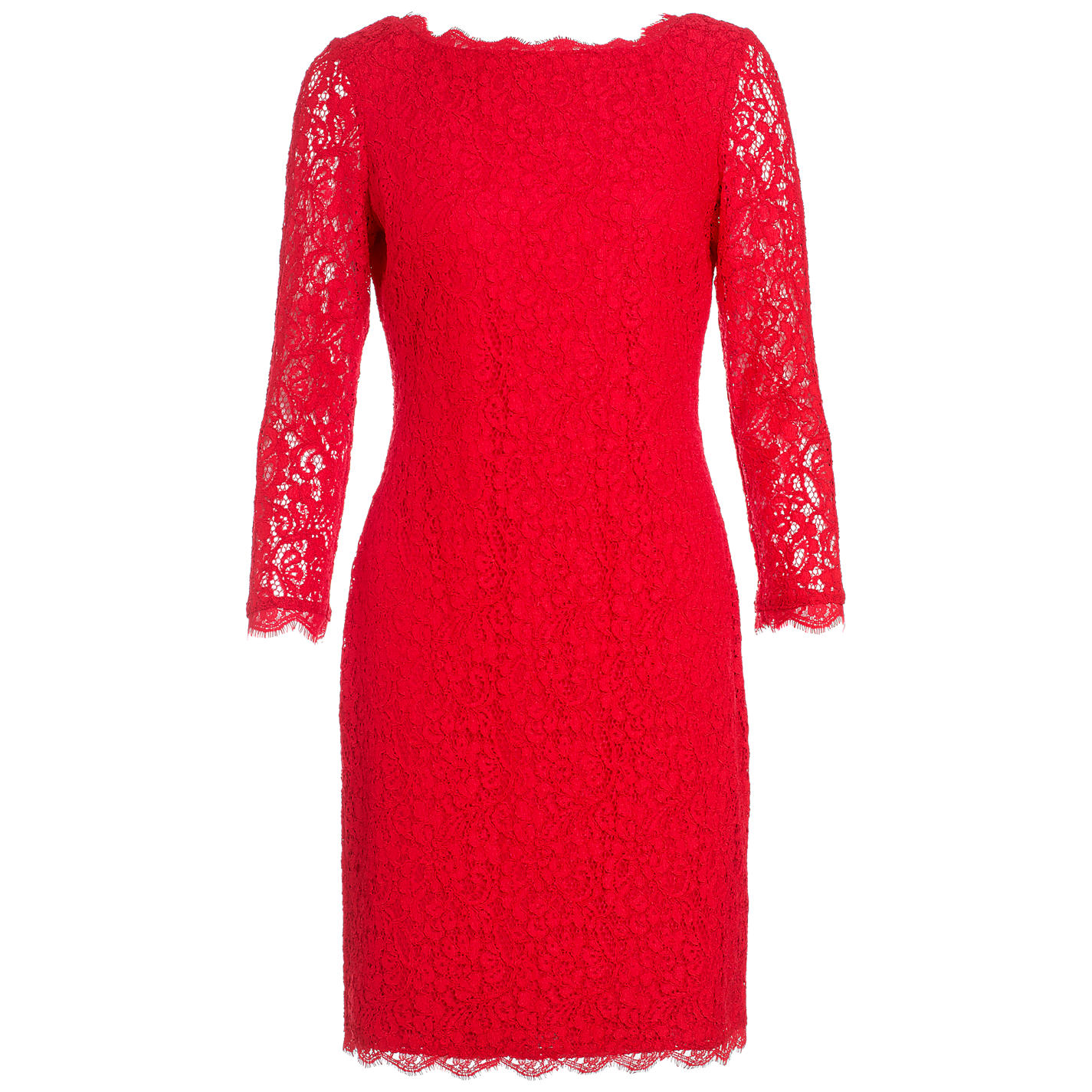 Lace Dresses With Sleeves: How To Choose Red Dresses With Sleeves To Get The Helen