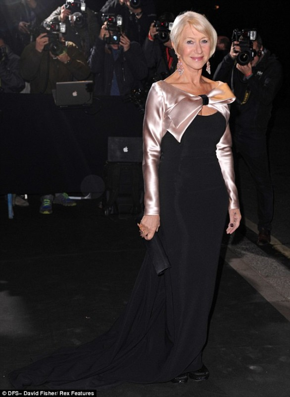 Helen Mirren Inspiration For Grown Up Style In A Dress