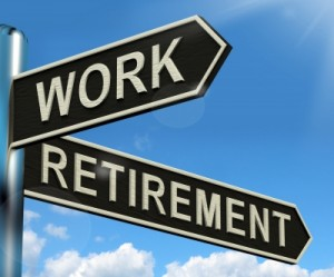 work or retirement over 60