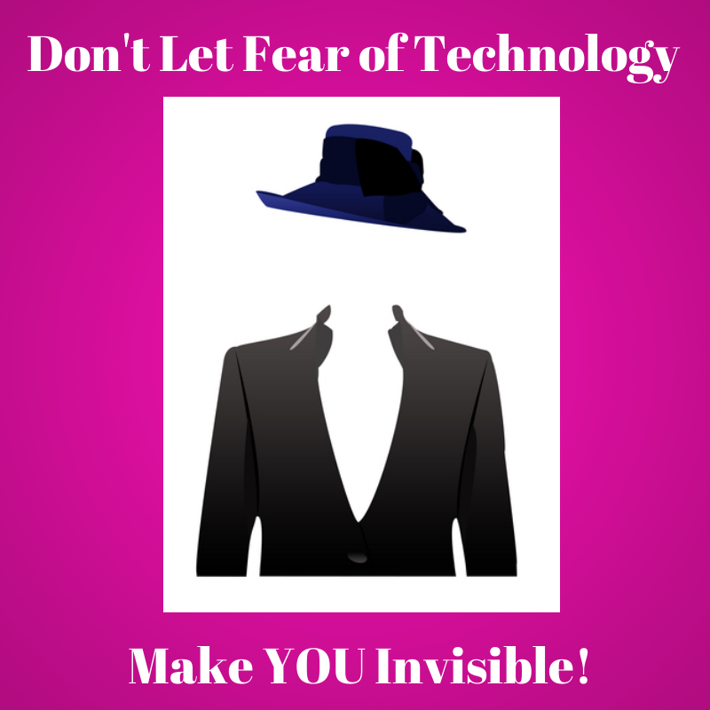 Fear of technology invisible  image