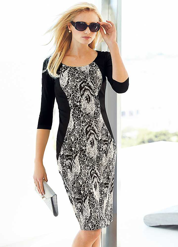 Slimming Dresses With Sleeves For Women Over 50 From