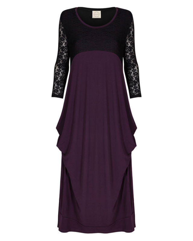 lace simge dress with sleeves