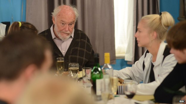 timothy west eastenders prostate cancer